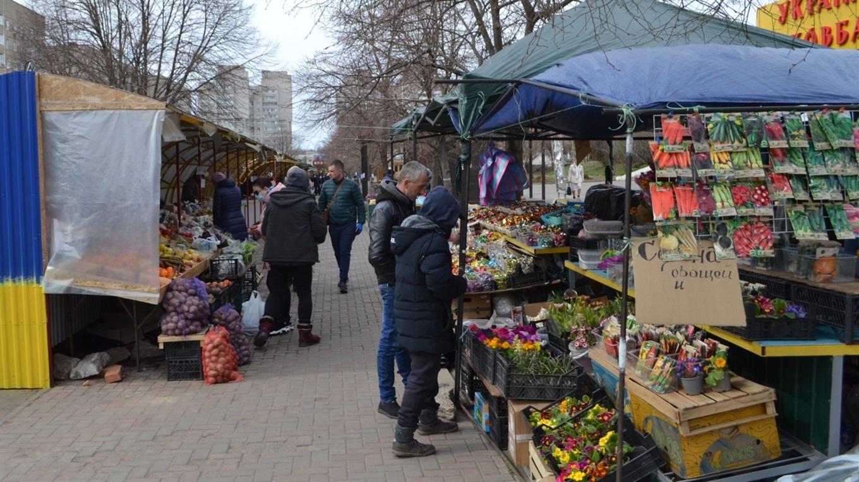 Южноукраинские рынки закрыты на карантин