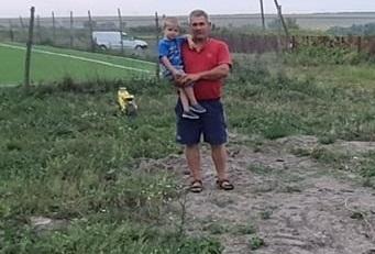 Олександр Купавка з сином