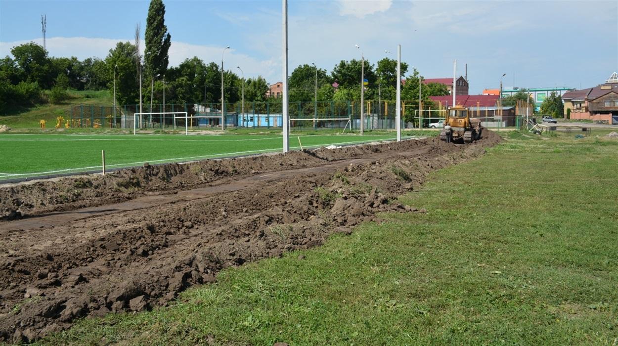 У серпні у Золотоноші з'явиться ще один масштабний ігровий майданчик для дітей