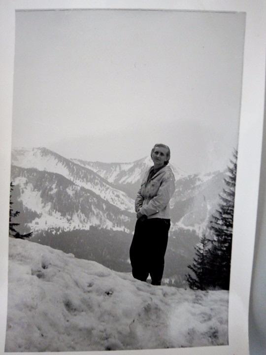 Дружина Ярослава в Альпах