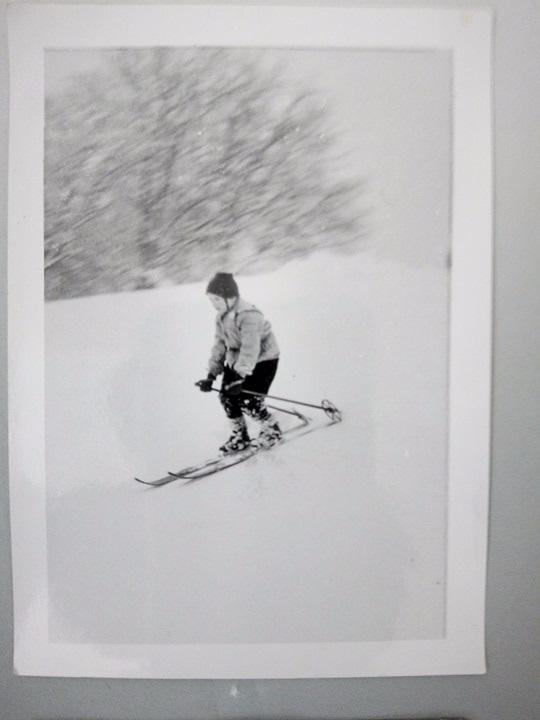 Наталія Бандера на лижах