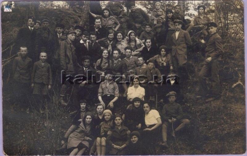 Сіоністичний табір, у якому брали участь батьки Бернарда Дічека