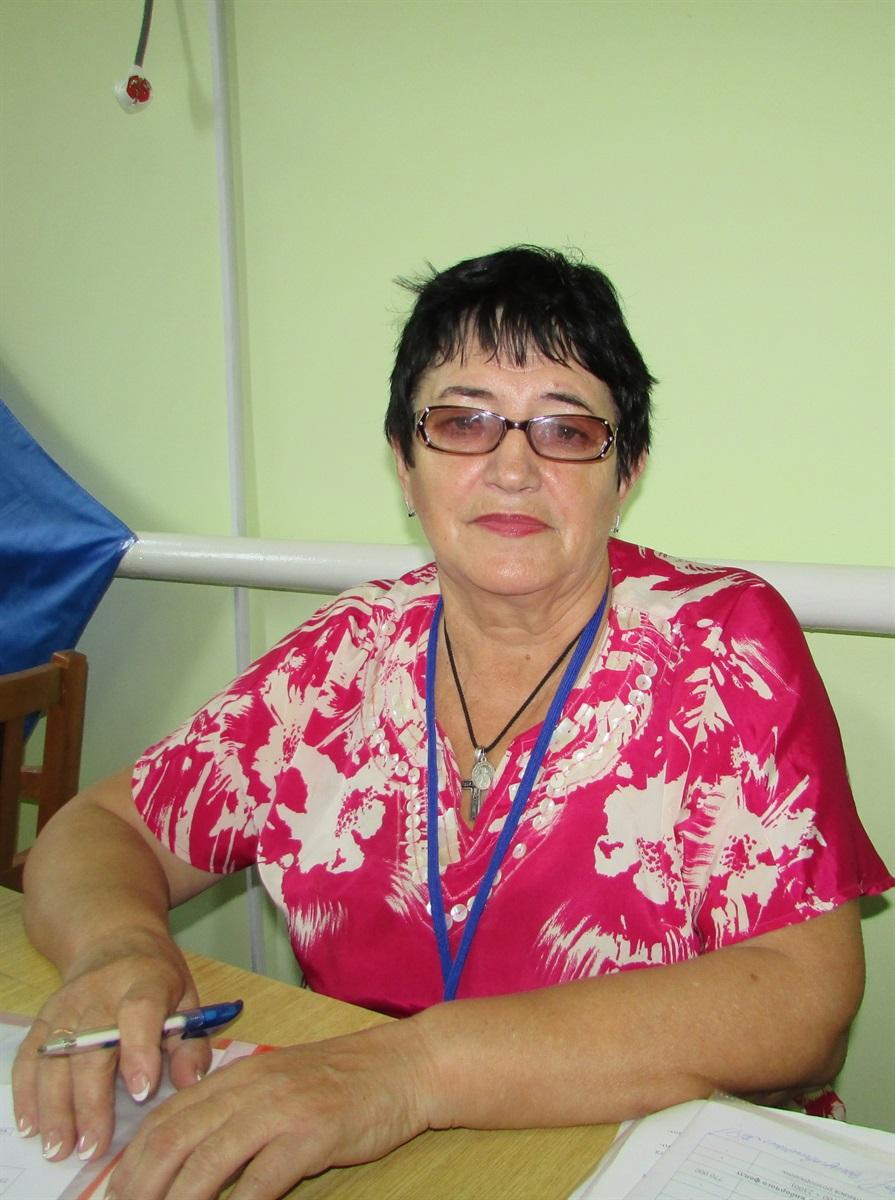 Голова ОВК 207 округу Тамара Запуговиченко