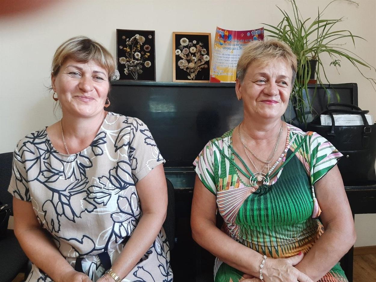 Ольга Голяченко та Валентина Омелянович