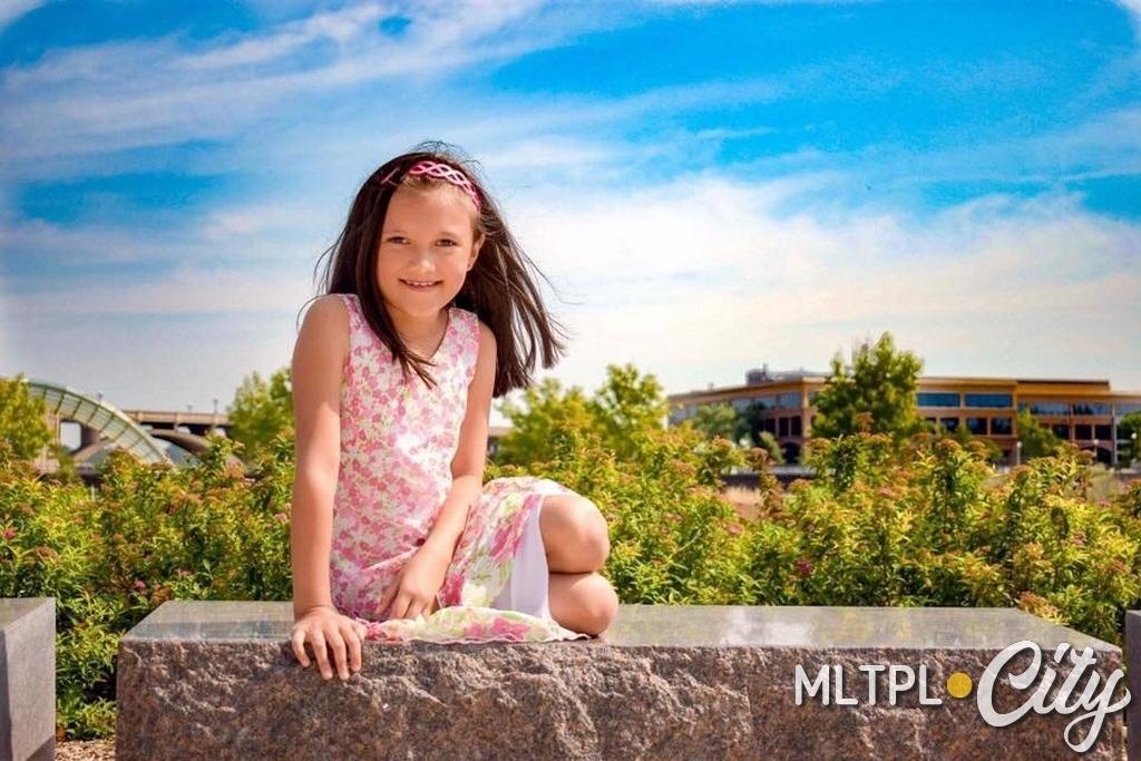 В 10-летней Софии течет украино-мексиканская кровь. И ей нравится такое необычное сочетание