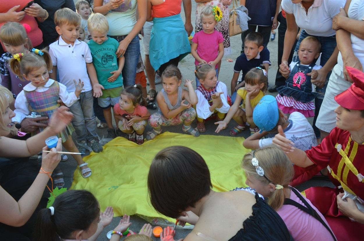 Перший фестиваль, який діти провели для дітей Біляївської громади