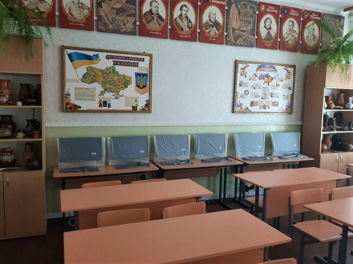Нові ноутбуки в школі №2