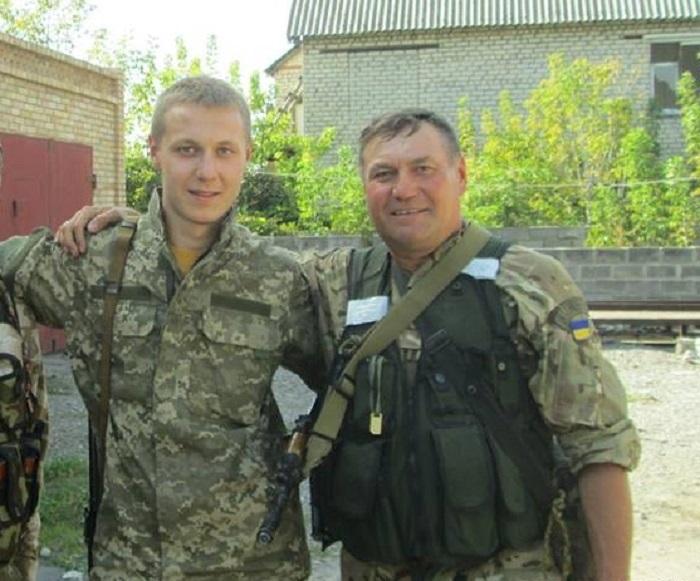 Батько і син Васюки у зоні АТО