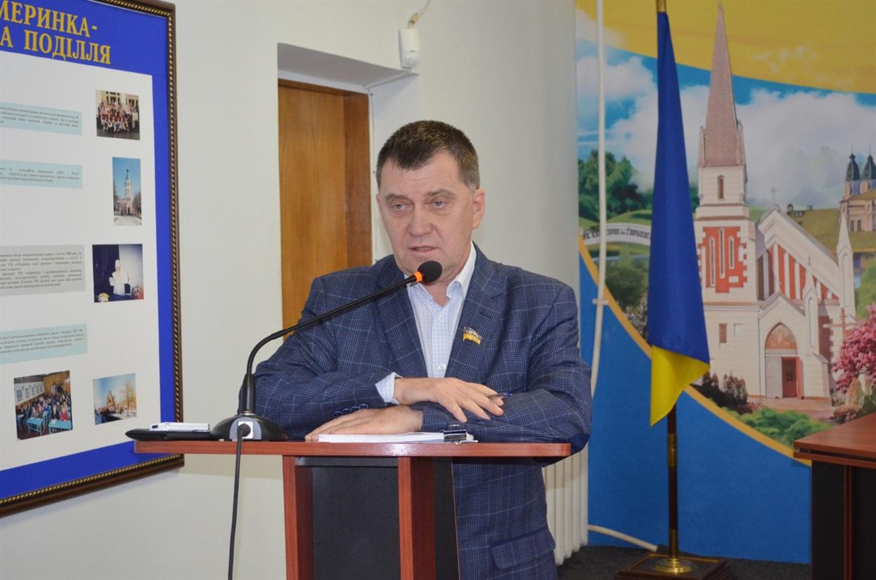 Анатолій Коновал, начальник управління економіки
