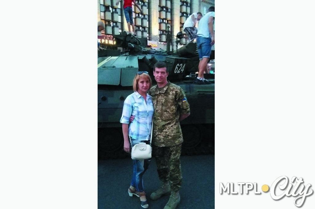 Евгений Сидоренко с супругой Аленой 26 августа 2017 года