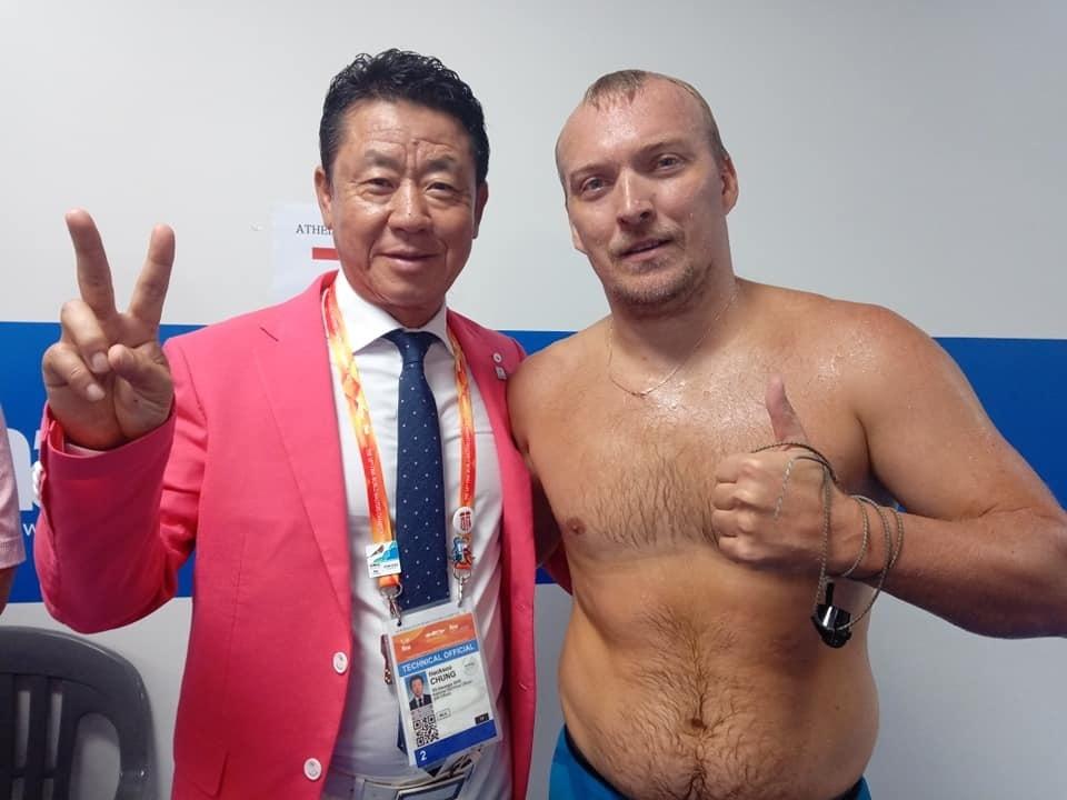 Плавець із Вараша Олександр Савчук