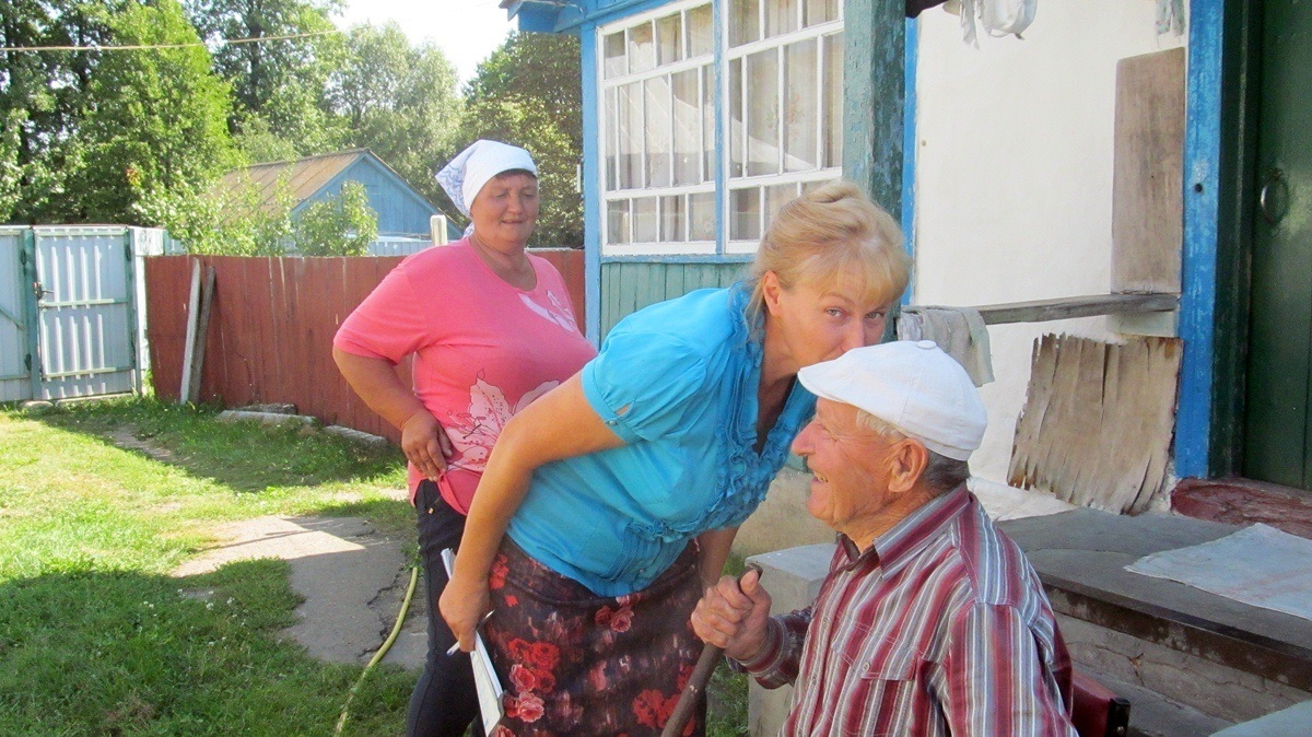 Коли відвідини соціальних робітників стають святом