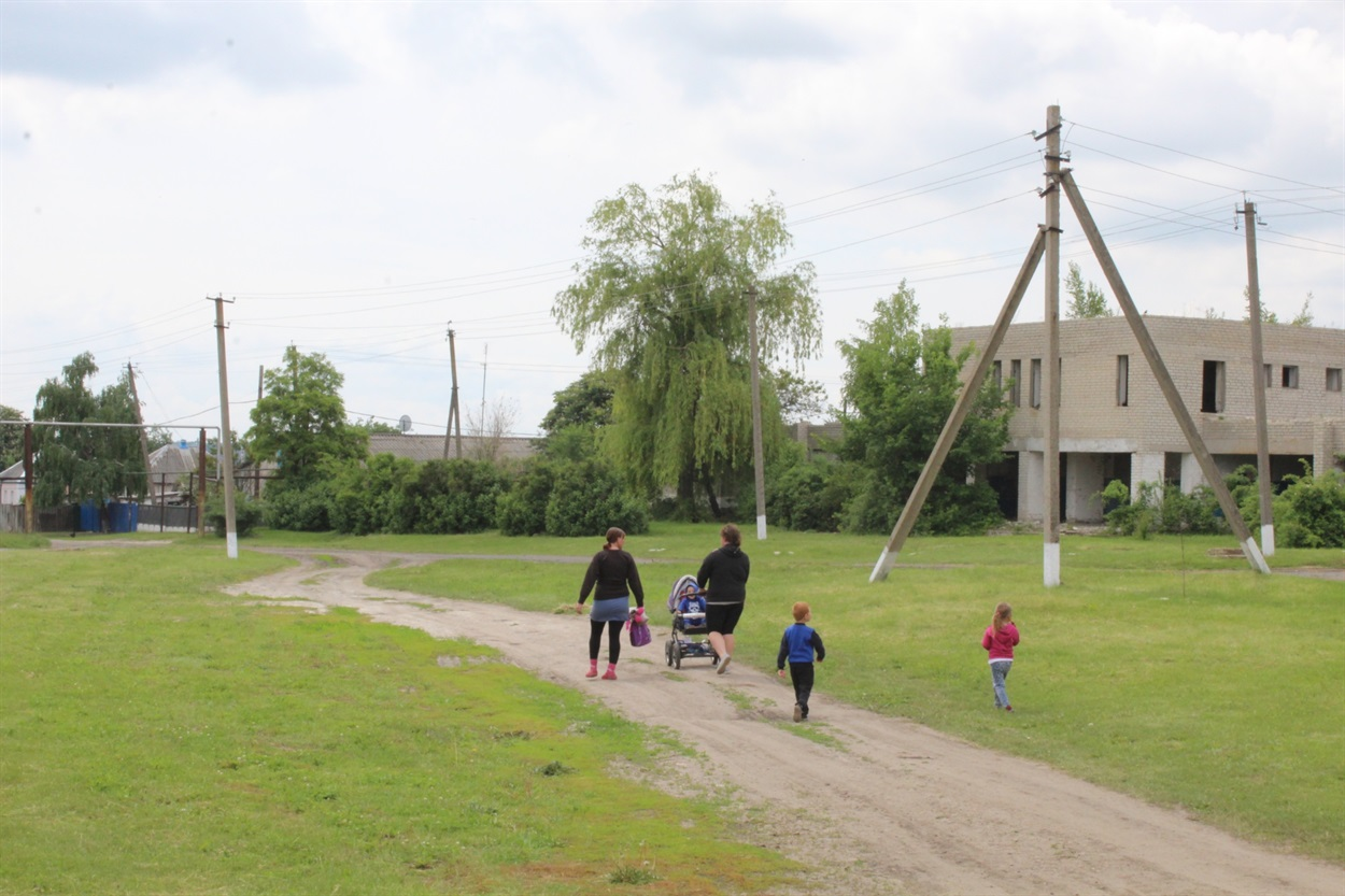 В селі Розсипне