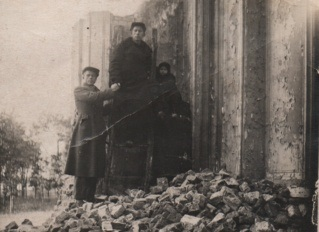 Руїни колишнього хомівського монастиря, 1939 рік