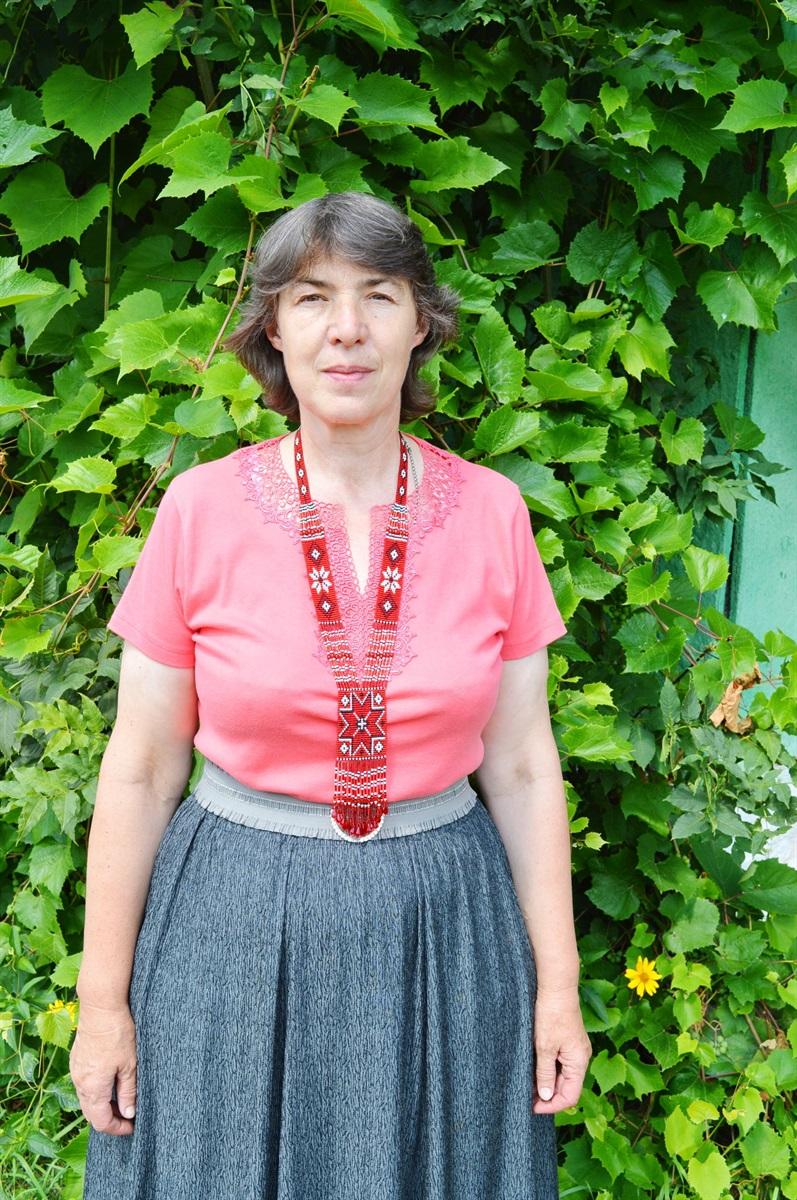 Ірина Хоменко, поетеса і автор пісень з села Радомки
