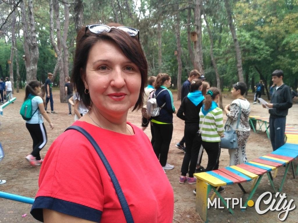 Елена Бурьянова хочет, чтобы ученики были здоровыми и дружными
