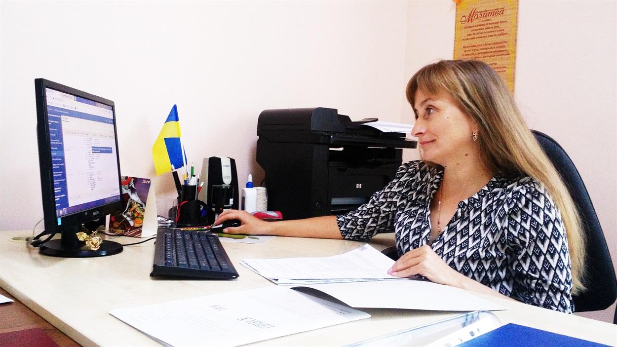Завідувач сектору з державної реєстрації Тетяна Шурко