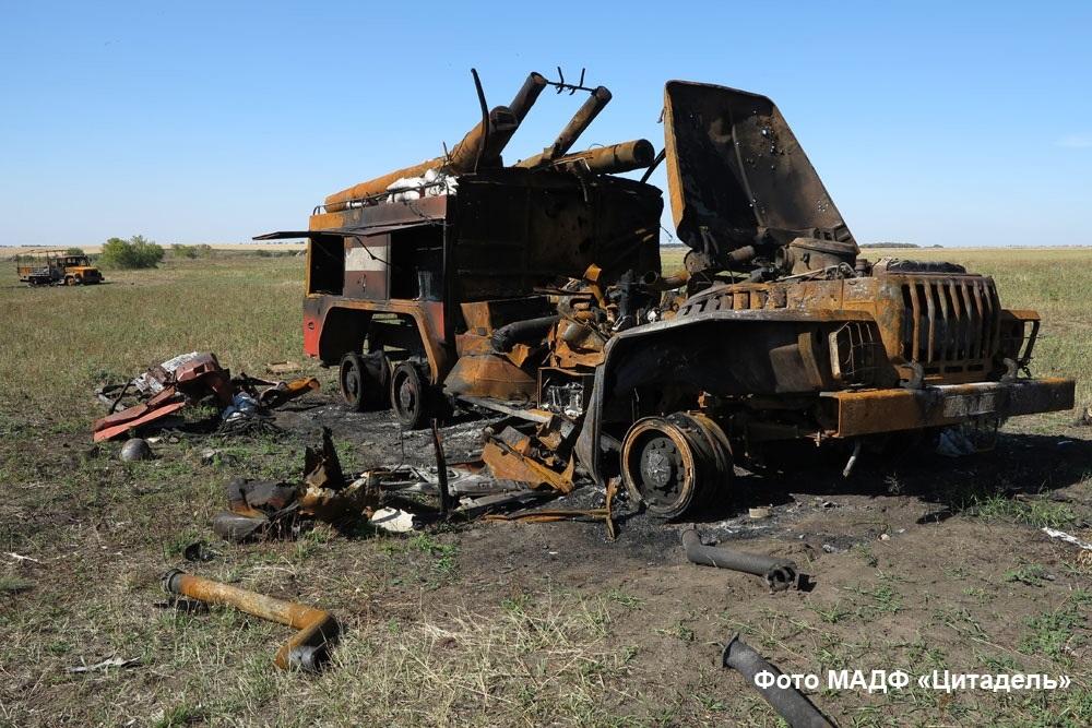 """У цій пожежній машині згорів """"Ахім"""""""