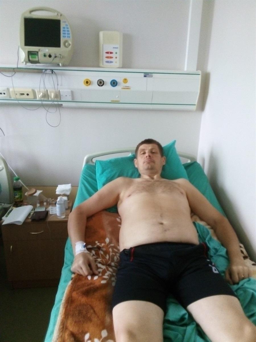 ОЛександр у лікарні
