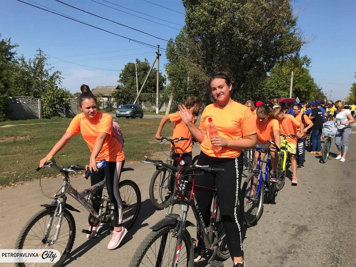 Велопробіг вулицями селища