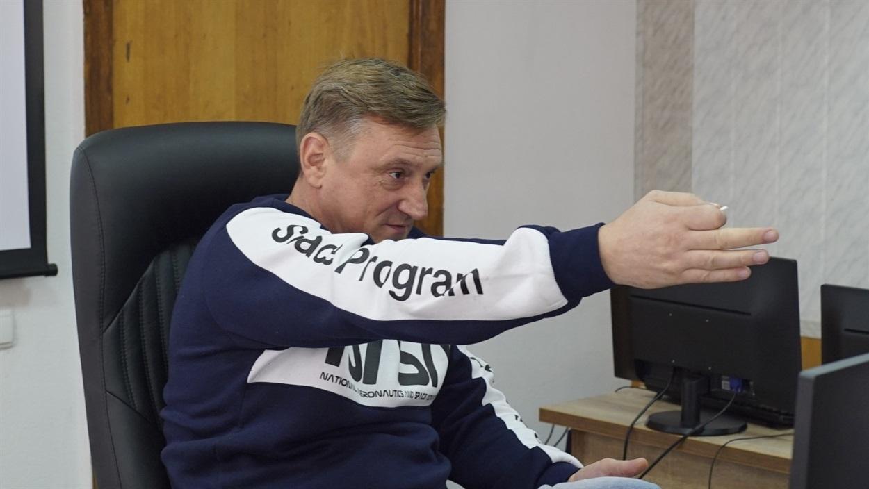 Добропільський міський голова Андрій Аксьонов