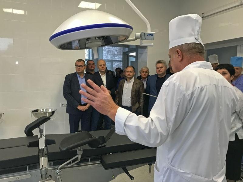 Під час відкриття операційного блоку травматологічного відділення Конотопської ЦРЛ