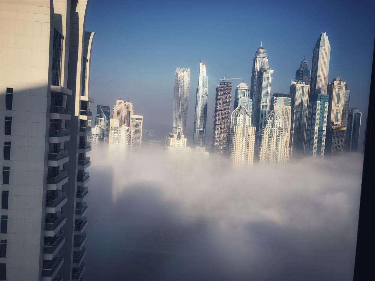 Дубай знаменит своими небоскрёбами