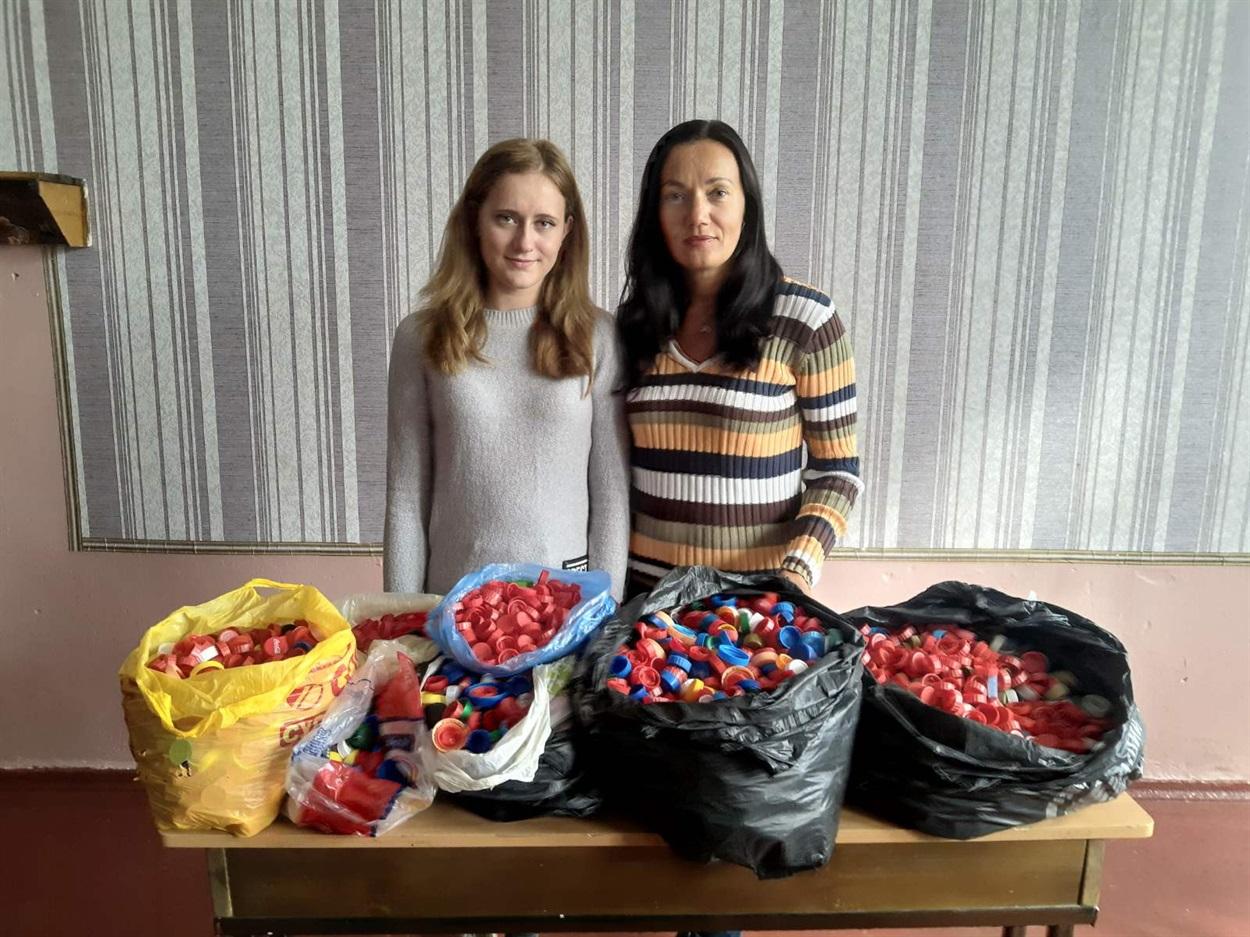 Лідія (праворуч) та її учениця Дар'я Зеленькова