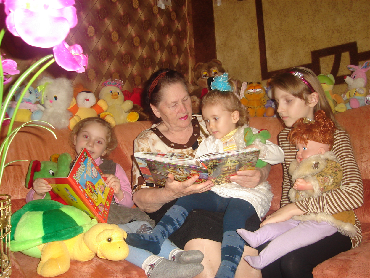 """""""Внуки и правнуки наши — это наше счастье"""", - говорит Валентина Павловна"""