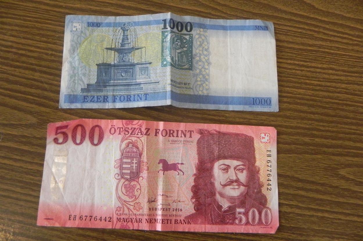 Так выглядят венгерские деньги