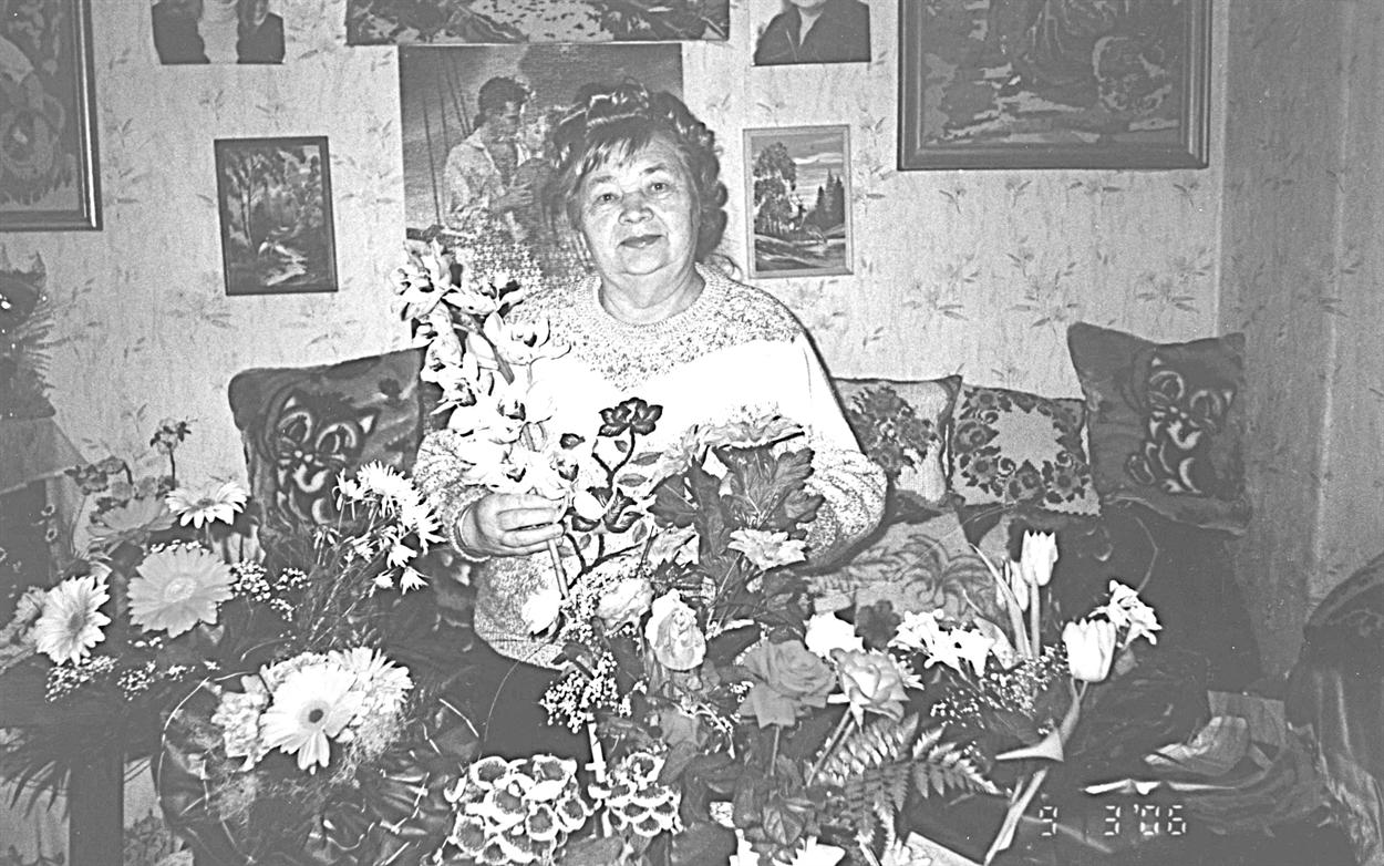 Елизавета Поворознюк по национальности является немкой (фото 1987 г.)