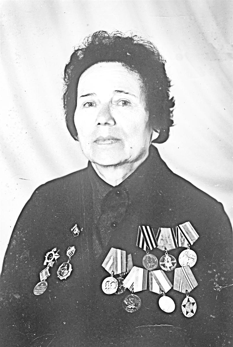 Май 1989г. Ветеран войны итруда Анна Каньшина