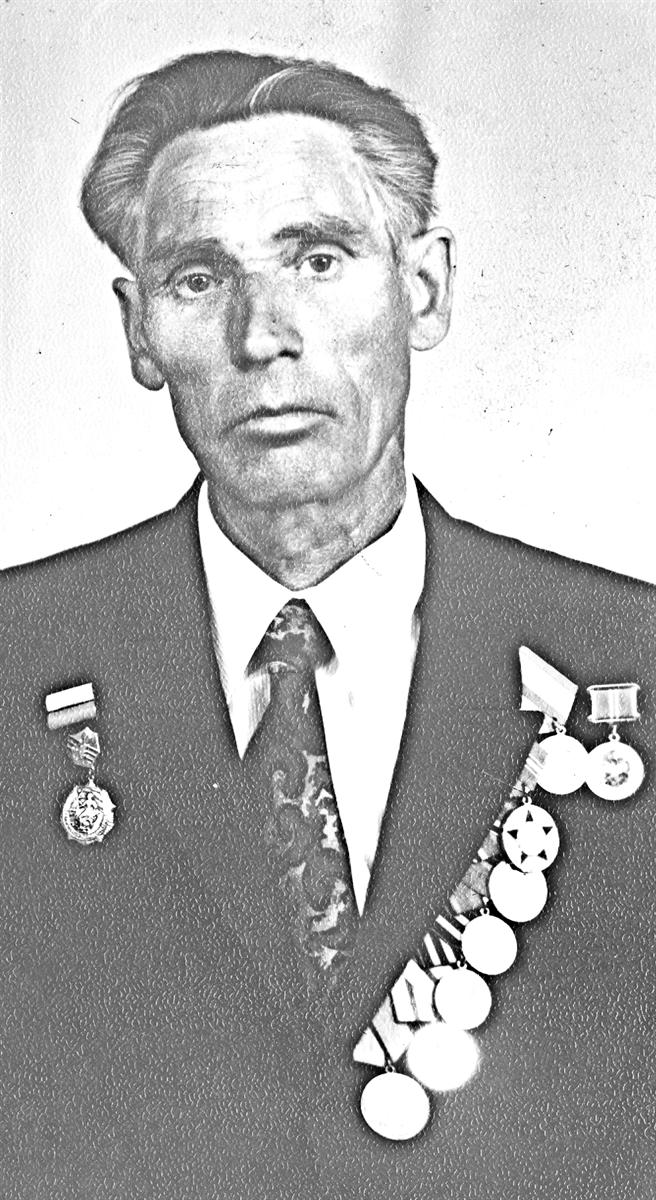 Ветеран Великой Отечественной Гаврил Федорович Каньшин