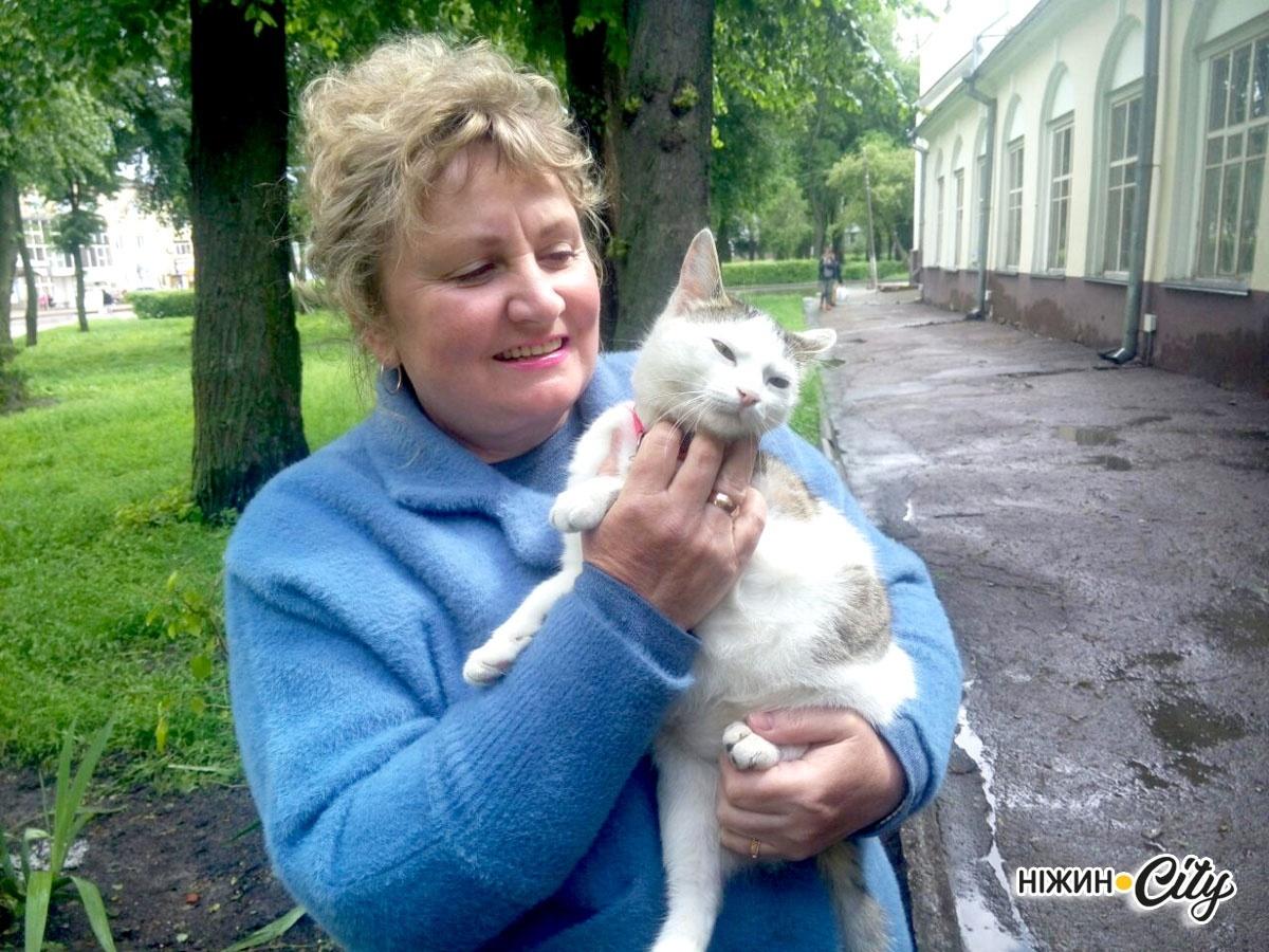 Ірина Литвинець зі своєю улюбленицею Мартою