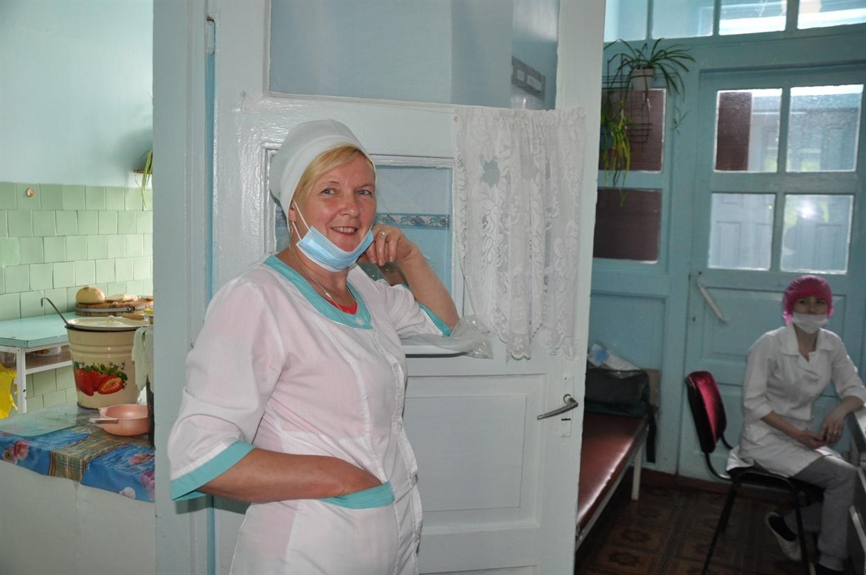 Людмила Маляровська, сестра господиня