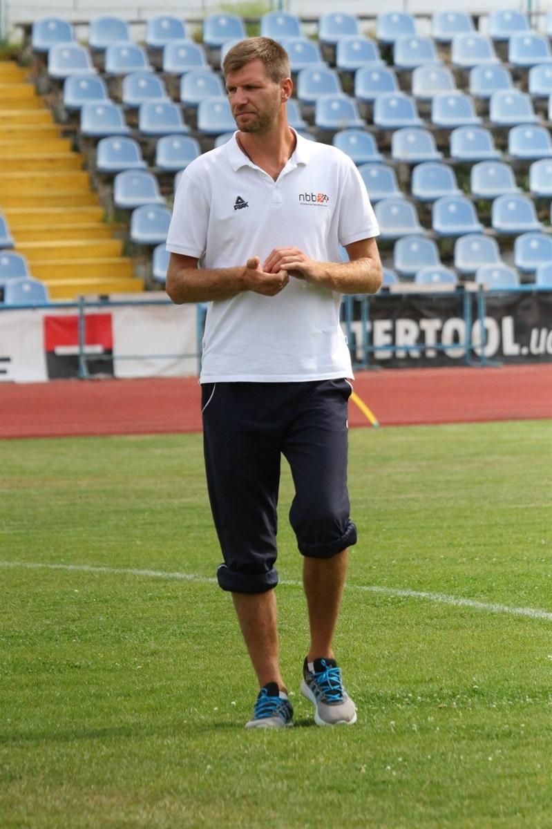 Директор Кременецької дитячо-юнацької спортивної школи (ДЮСШ) Євген Запольський