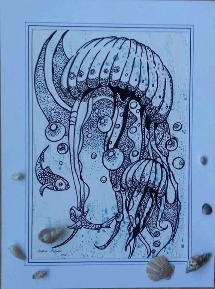 Картина, яка зайняла 3 місце на Міжнародному конкурсі по морській тематиці. Перший міжнародний конкурс.