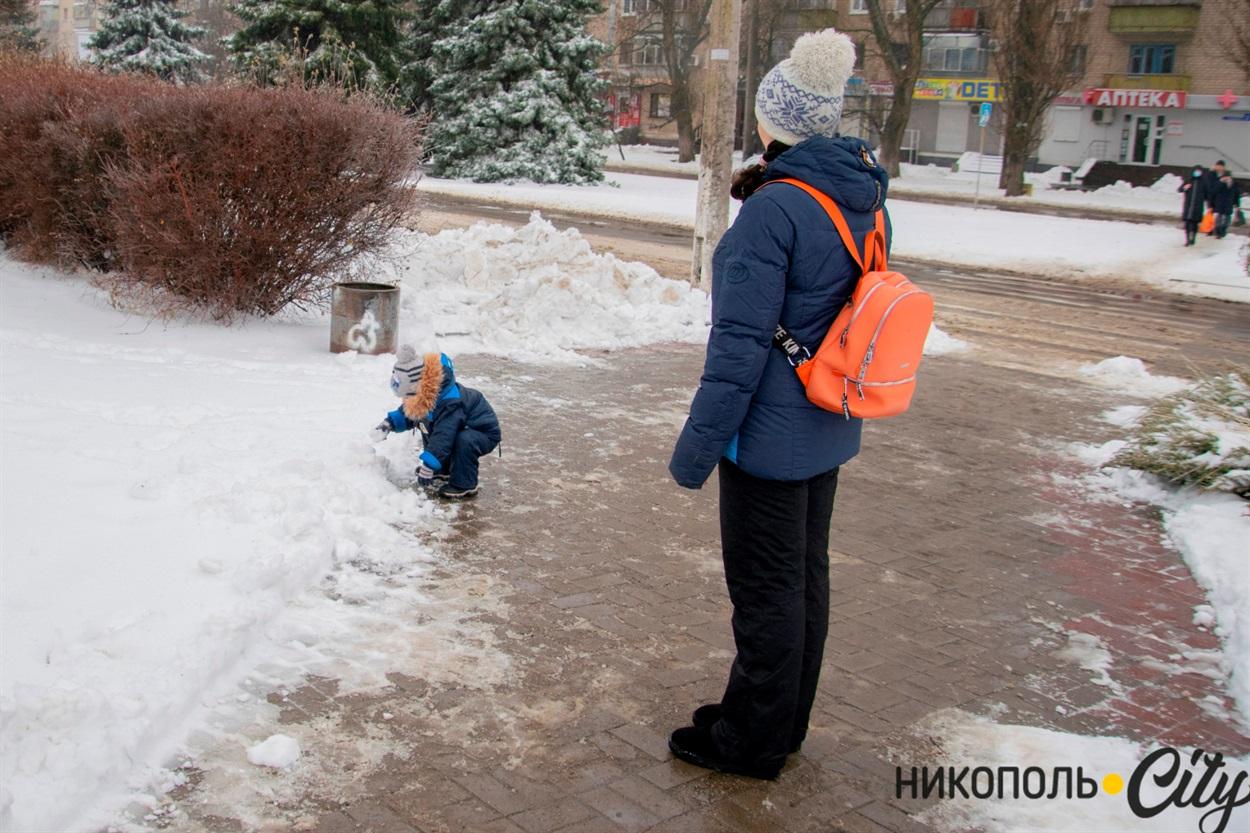 Найбільше снігу радіють діти